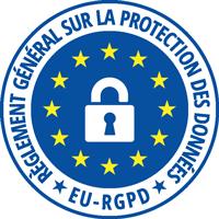 Illustration pictogramme réglement général sur la protection des données